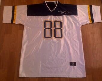 Ruff Ryders jersey, vintage DMX t-shirt 90s hip-hop clothing 1990s hip hop shirt, OG, gangsta rap, size L Large