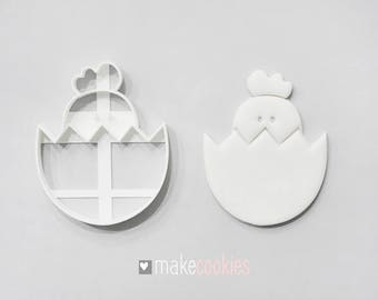 Easter Egg 2 Cookie Cutter