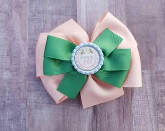 I am so loved, Hair Bow For Girl, Baby Hair Bow, Toddler Hair Bow, Cute Hair Bow, Hair Clip For Girl, Modern Hair Bow
