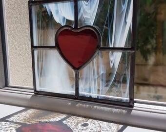 Suncatchers /wedding present /gift /window decoration /stainedglass /new house gift/glass art