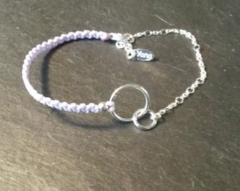 Yana Telia bracelet silver circles