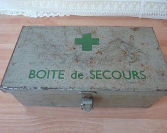 Vintage first aid kit