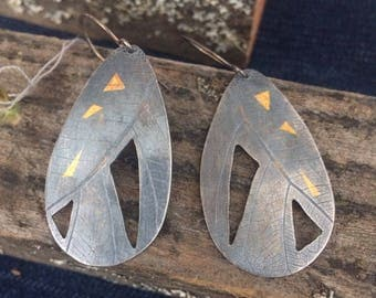 Keum boo Geometric earrings