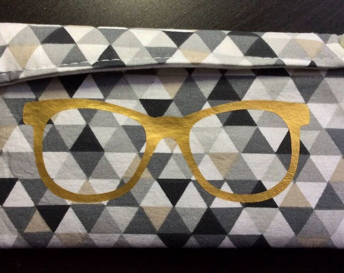 Glasses case handmade decorated and personalized