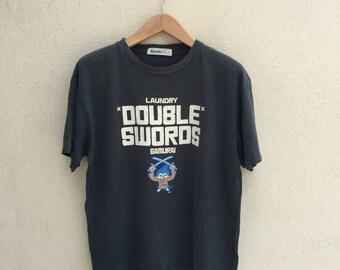 Japanese Brand Laundry Samurai Tshirt
