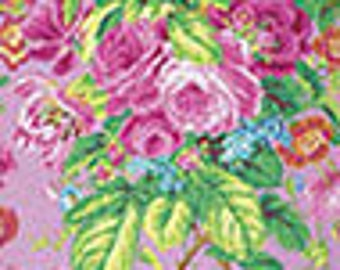 Floral Delight in Lavender by Philip Jacobs for Kaffe Fassett Collective