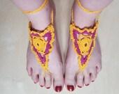 Goddess barefoot sandals