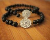 Aromatherapy   Essential Oil   Lava Rock   Diffuser Bracelet   Beaded Bracelet   Yoga   Stretch Bracelet   Charming Bracelet   Handmade