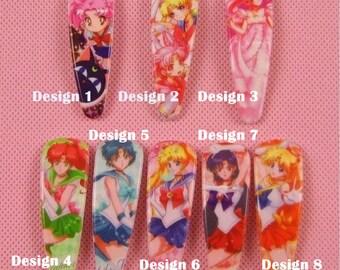 Sailor Moon Hair clips