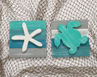 Sea Turtle Nursery Beach Decor