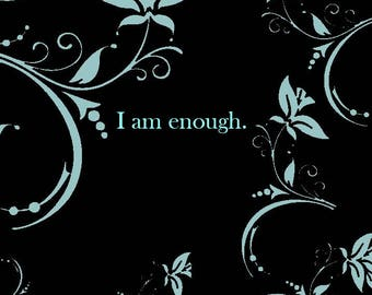 Enough Cross Stitch Pattern