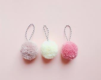 Pom Pom Bauble | Hanging Decoration | Pom Pom Decoration | Pom Pom Decor | Custom | Pom pom |