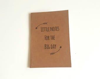 A6 / A5 Notebook // Jotter // Handmade notebook // Kraft Notebook // Blank Journal // Bridal notebook