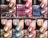 Summer Soiree 1 Year Anniversary collection - Full 7 Piece Set - BLUSH Lacquers