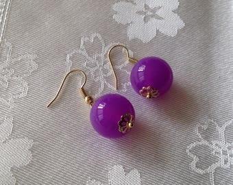 Pretty pair of dangle earrings