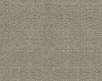 By The HALF YARD - Jardin de Provence by Daphne Brissonnet of Wild Apple for Windham Fabrics, Patt #40696-1 Linen Textured Taupe Gray Solid