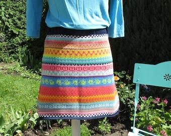Colourful summer skirt Sola Gr. M