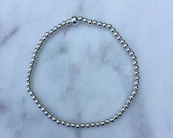 The Silver Ball Bracelet
