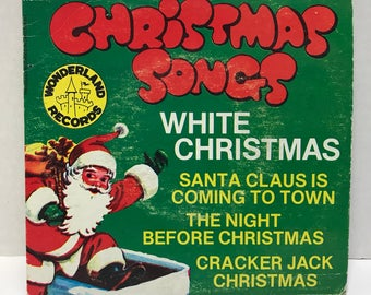 Christmas Songs 45 RPM Record