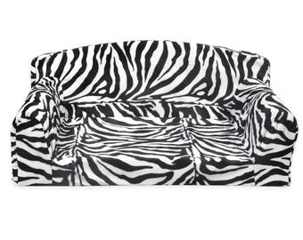 Animals Herbivore – Pet Sofa Optic Zebra Big Giraffe Gold Antelope Soft Dog Bed