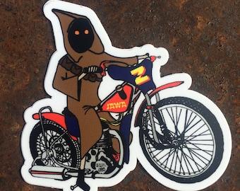 Jawa on Jawa Vinyl Die-Cut Sticker