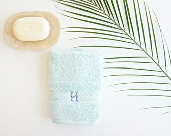 Monogrammed and Embroidered Facial & Spa Cloths