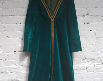 Vintage handmade 70s dress. Perfect condition.