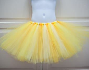 Shades of Yellow Tutu/Belle/Beauty and the Beast Tutu - Other Colors Available
