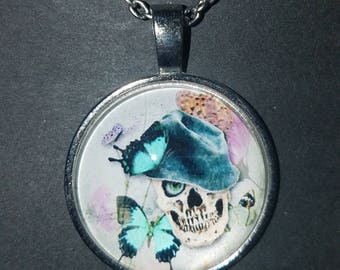 Skull daddy Cabochon necklace