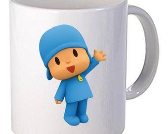 Pocoyo Beautiful Funny Cartoon Coffee Mug