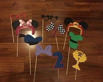 Mickey and the Roadster Racers Photo Props