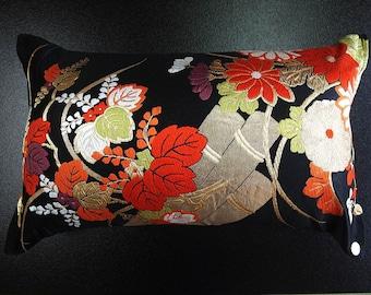 Cushion of Obi (Kimono) Japanese Silk  0000092