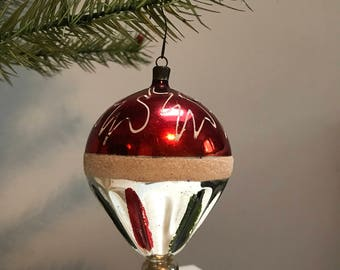 Vintage Handblown Ornament