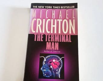 The Terminal Man by Michael Crichton  Paperback  Thriller