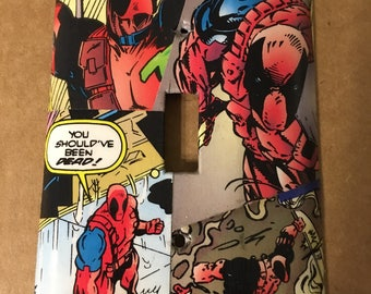 Deadpool light switch cover
