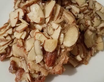 Almond Cookies Thin crispy all healthy thin crispy snacks sweet and salted
