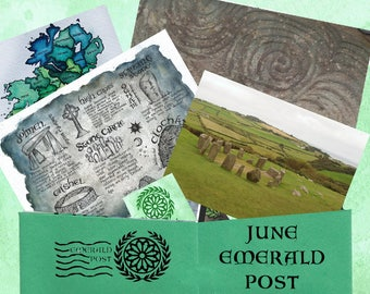 June Issue - History in Stone - One Month Emerald Post