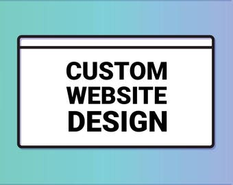 50% SALE - Custom Website Design  • Wedding Websites • Shopping Websites for Businesses • Wordpress Design • Real Estate Websites • Cleaning