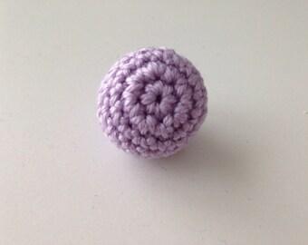 Purple Pearl hook 2 CM