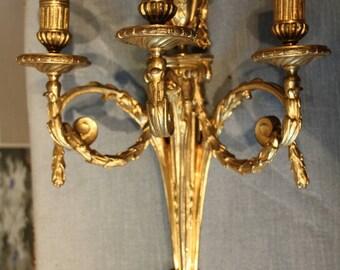Bronze Candelabra Etsy