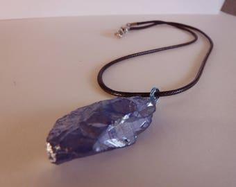 Titanium Crystal Quartz Necklace