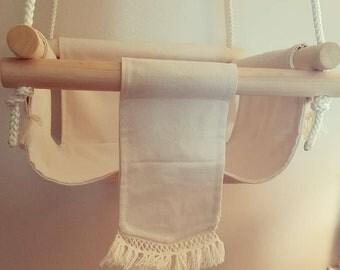 Handmade Indoor/Outdoor Boho Baby Swing