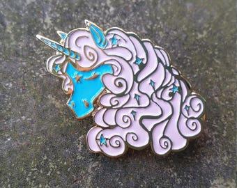 Pastel Unicorn soft enamel pin