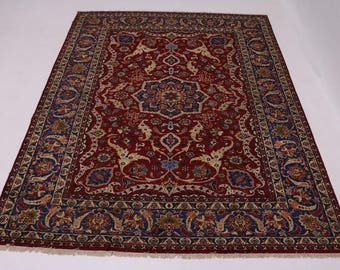 Excellent One of a Kind Najafabad Isfahan Persian Rug Oriental Area Carpet 10X14