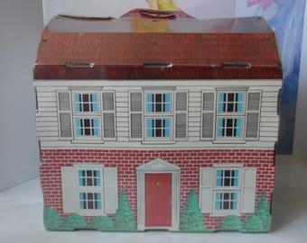 Vintage Cardboard Dollhouse  1572