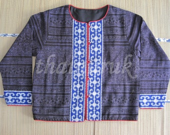 Hmong embroidered coat