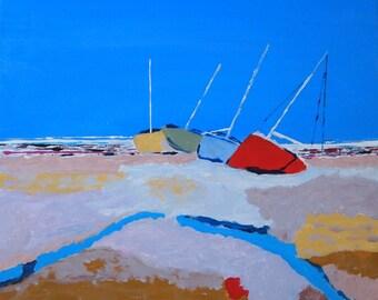 four sailboats (2015)