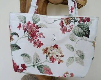 Handmade Designer Tote Bag (large) - Summer Flowers In Bloom