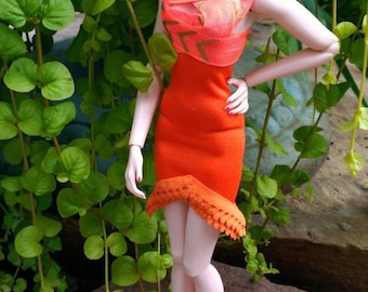 Fashion royalty dress is one size Fits color infusion,Nippon misaki integrity,nuface,fr,fr2,Barbie