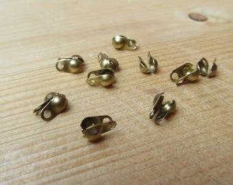 Tips for 3.2 ball chain brass bronze x 10 mm